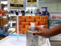 Polícia alerta sobre álcool em gel: só utilize se não tiver água e sabão
