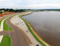 Prefeitura realiza fiscalização de pesca predatória no Lago Azul nesta quinta-feira