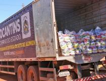 Governo do Tocantins realiza nova etapa de entregas de cestas básicas atendendo mais de 7 mil famílias