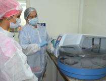 LACEN recebe máquina de extração usada nos testes de Covid-19 e volta a realizar 100% dos exames do Tocantins