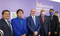 Governador do Tocantins participa da apresentação do Plano Nacional de Operacionalização da Vacina contra a Covid-19