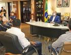 Governador Mauro Carlesse recebe Diretoria da Associação Tocantinense dos Municípios
