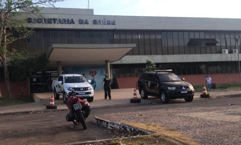 Polícia Federal faz buscas na Secretaria de Estado da Saúde e investiga superfaturamento na compra de 590 leitos hospitalares