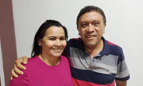 Em Juarina, Manoel  é escolhido como candidato a prefeito;  Meirelene será a vice