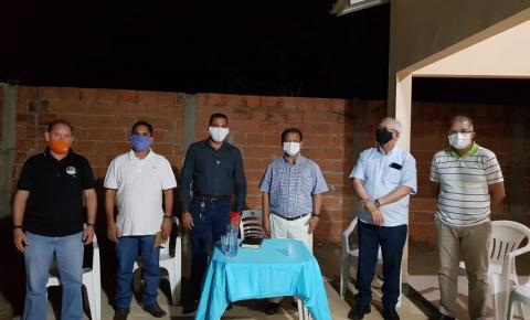 Pastores da Ciadseta declaram apoio à candidatura de Otoniel e pastor Edilson de Luzimangues