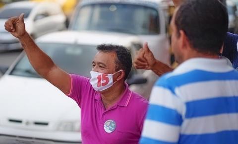 Elenil da Penha diz que distribuição de cestas básicas é desespero do adversário