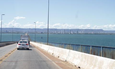 Ponte entre Palmas e Luzimangues terá sistema de funcionamento especial a partir desta quinta, 26