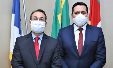 Wagner Rodrigues e Marcus Marcelo são diplomados prefeito e vice de Araguaína