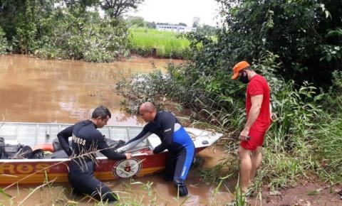 Corpo de homem que desapareceu durante pescaria em Araguaína é encontrado por bombeiros