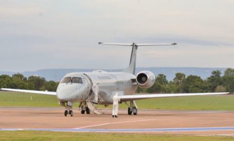 Governo presta assistência em pouso técnico de avião que transportava pacientes com covid-19 oriundos de Manaus