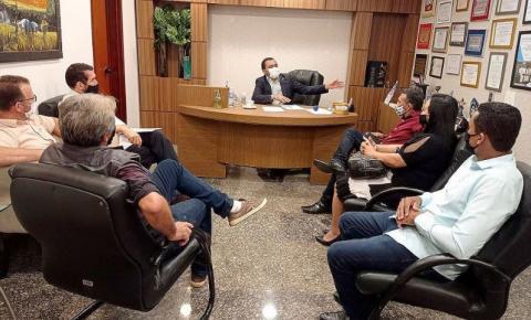 Vice-governador do estado Wanderlei Barbosa se reúne com prefeitos e vereadores e recebe demandas