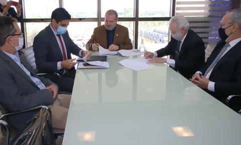 Governador Mauro Carlesse lança mestrado em direitos humanos em parceria com o Tribunal de Justiça
