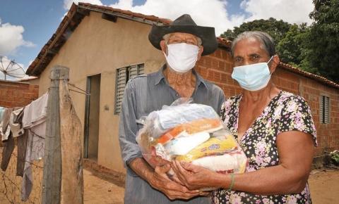 Ação emergencial do Governo do Tocantins já entregou cerca de 700 toneladas de alimentos em 2021