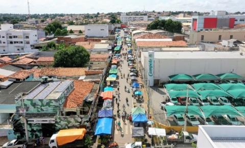 Em Araguaína, prefeitura aumenta área das feiras para distanciar barracas e evitar aglomerações