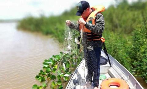 Naturatins divulga apreensão de quase 10 mil metros de redes no balanço da Piracema 2020-2021