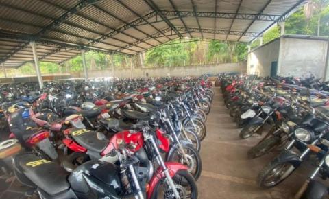 Leilão online oferece mais de 600 veículos no Tocantins; interessados devem se cadastrar