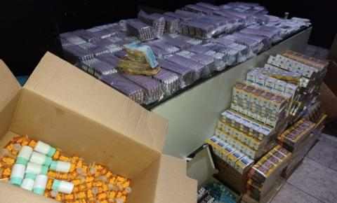 Durante operação da Polícia Civil, anabolizantes, remédios para aborto e 52 mil comprimidos de anfetamina são apreendidos em Colinas - TO