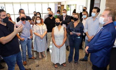 Carlesse confirma apoio a donos de bares e restaurantes e a liberação de R$ 50 milhões em linhas de crédito para o setor durante a pandemia
