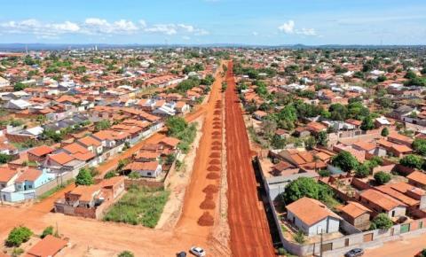 Wagner anuncia investimento de R$ 206 milhões em obras só neste ano em Araguaína