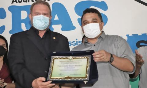O Governador Mauro Carlesse é Cidadão Honorário de Sítio Novo do Tocantins