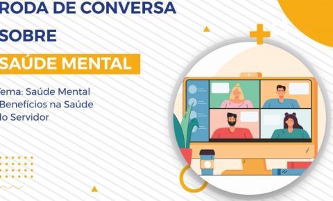 Secad promove roda de conversa sobre saúde mental para servidores