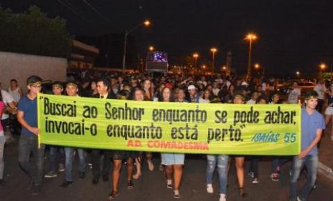 Com queda da covid, Wagner anuncia realização da Marcha para Jesus em Araguaína